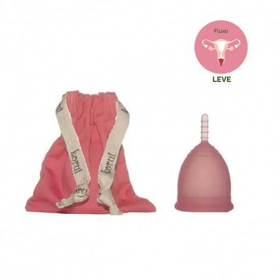 Coletor Menstrual Rosa Leve Un - Korui