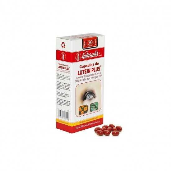 Lutein Plus 30 cápsulas de 630mg - Naturalis