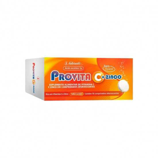 Provita - Vitamina C + Zinco 10 comprimidos - Naturalis