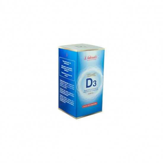 Vitamina D3 120 comprimidos - Naturalis