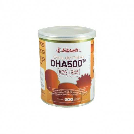 Omega-3 DHA 500 com 100 cápsulas - Naturalis