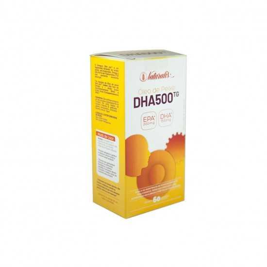 Omega-3 DHA 500 com 60 cápsulas - Naturalis