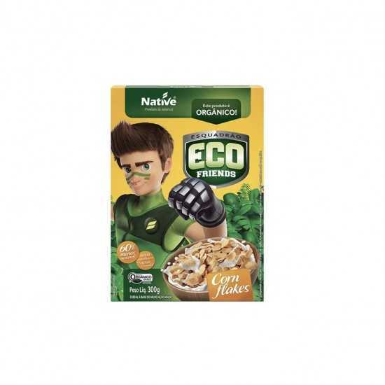 Cereal Orgânico Eco Friends Corn Flakes 300g - Native