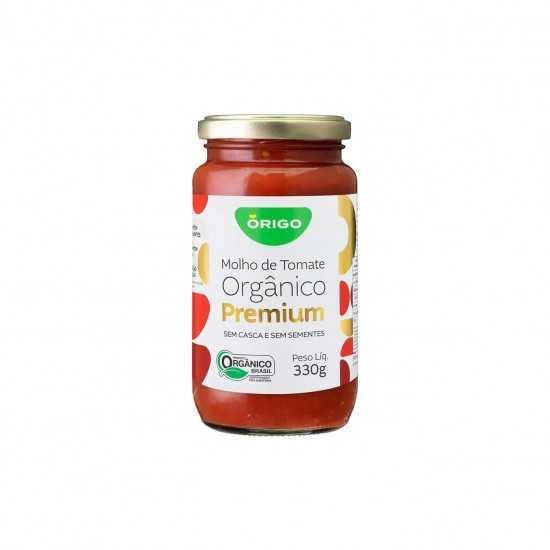 Molho de Tomate Premium Orgânico 330g - Órigo