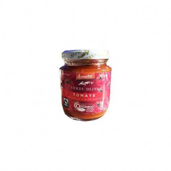 Molho de Tomate Orgânico e Biodinâmico 240g - Verde Oliva