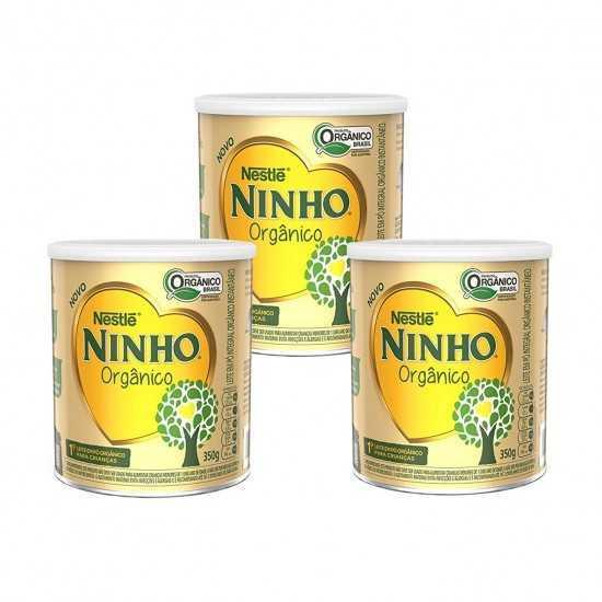 Leve 3 Pague 2 - Leite em pó Ninho Orgânico 350g - Nestle Orgânicos