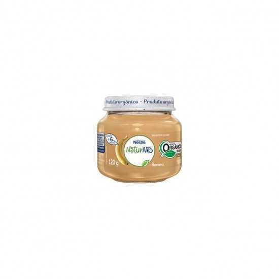 Naturnes - Papinha de Banana Orgânica 120g - Nestle Orgânicos