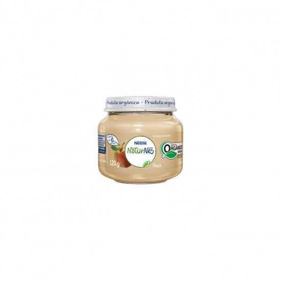Naturnes - Papinha de Maça Orgânica 120g - Nestle Orgânicos