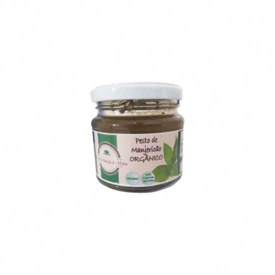 Molho Pesto de Manjericão Orgânico 110g - Sítio Estância da Mata