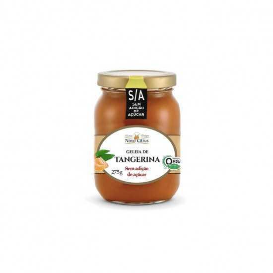 Geleia de Tangerina Orgânica Sem Açúcar 275g - Novo Citrus