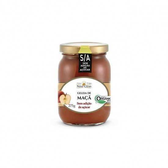 Geleia de Maçã Orgânica Sem Açúcar 275g - Novo Citrus