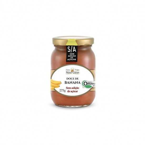 Doce de Banana Orgânico Sem Açúcar 275g - Novo Citrus