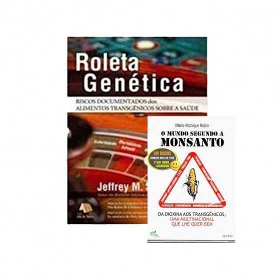 """Livro Roleta Genética Jeffrey M. Smith + Brinde DVD Documentário """"o Mundo Segundo a Monsanto"""" - Livraria"""