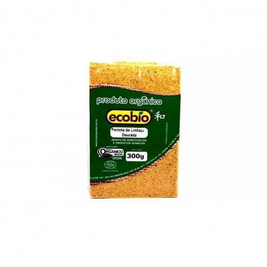 Farinha de Linhaça Dourada Orgânica 300g - Ecobio