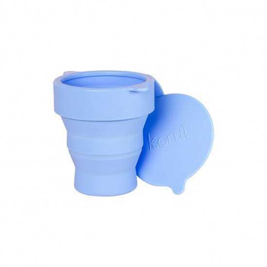 Copo Esterilizador Azul Lavanda Un - Korui