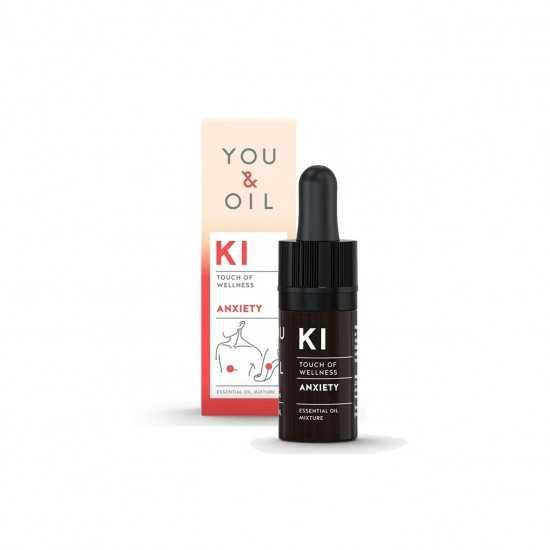 Óleo Essencial Orgânico KI Ansiedade You & Oil 5ml - Biouté