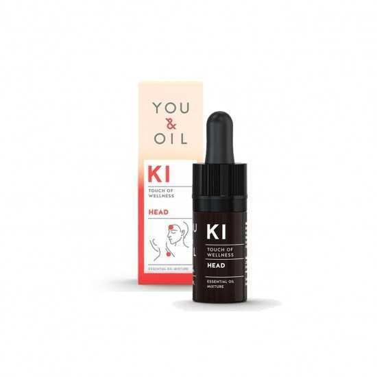 Óleo Essencial KI Dor de Cabeça You & Oil 5ml - Biouté