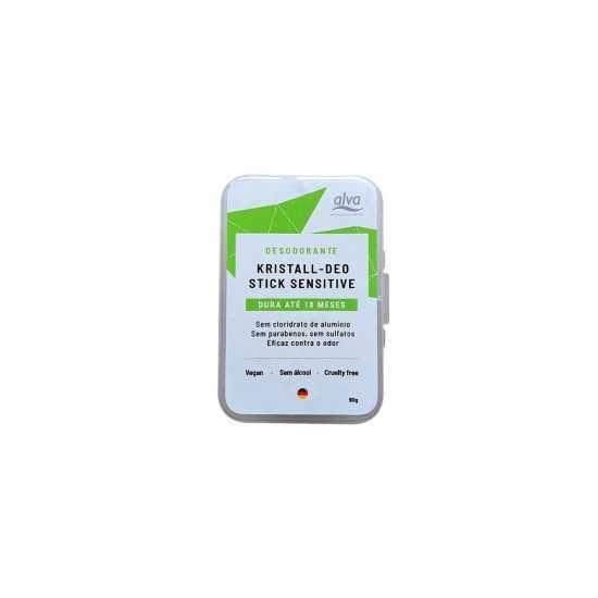 Desodorante Stone Kristall Sensitive 90g Alva - Biouté