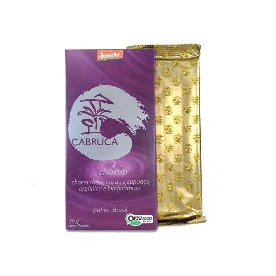 Chocup - Chocolate de Cacau com Cupuaçu Orgânico e Biodinâmico 70g - Cabruca