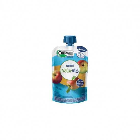 Naturnes Pouch - Bebida de Maçã Orgânica 99g - Nestlé Orgânicos