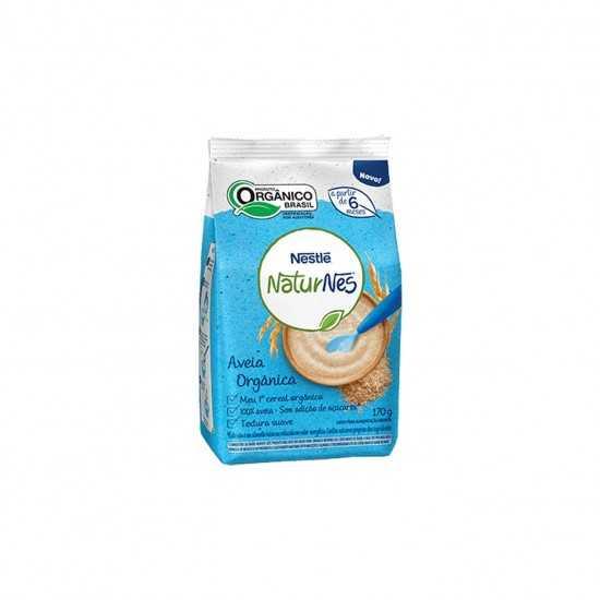 Naturnes - Aveia Orgânica 170g - Nestlé Orgânicos