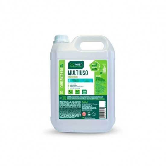 Concentrado Multiuso Sem Fragrâncias Orgânico 5L - Biowash