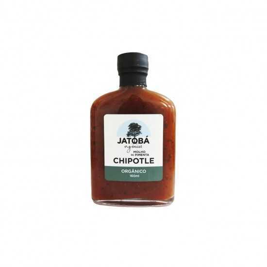 Molho de Pimenta Chipotle Orgânico 160ml - Jatoba