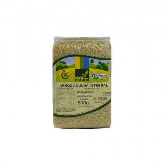 Arroz Agulhinha Integral Orgânico 1kg - Cooper Natural