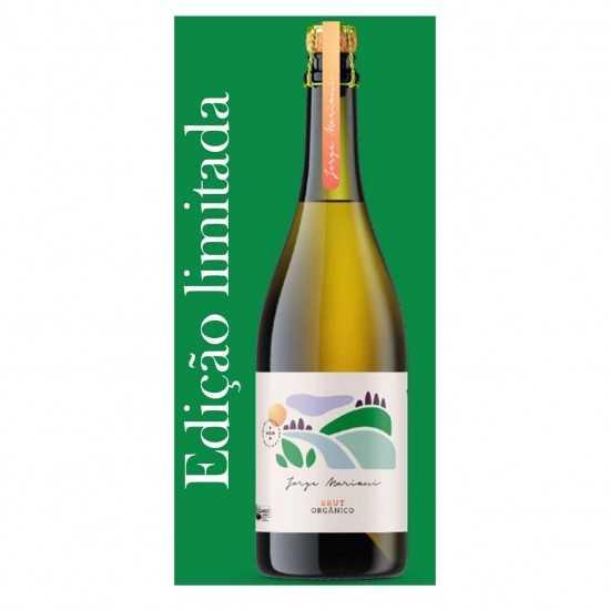 Edição Jorge Mariani Vinho Branco Espumante Brut Orgânico 750ml - Vinícola De Cezaro