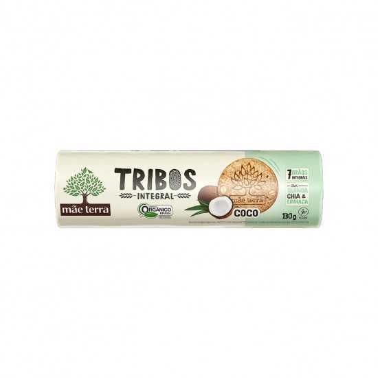 Biscoito Integral de Coco Tribos Orgânico 130g - Mãe Terra