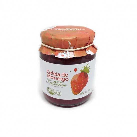 Geleia de Morango Orgânica 250g - Fruta Fina