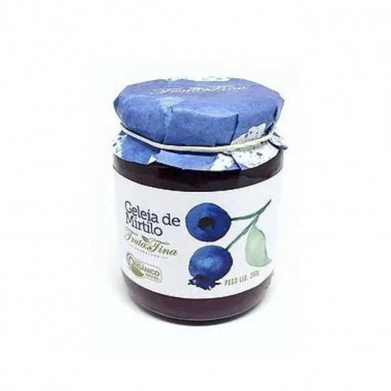 Geleia de Mirtilo Orgânica 250g - Fruta Fina