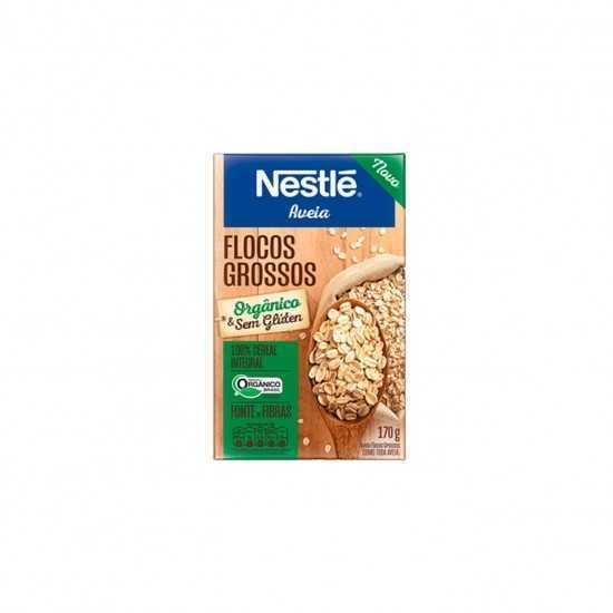 Aveia em Flocos Grossos Orgânica 170g - Nestle Orgânicos