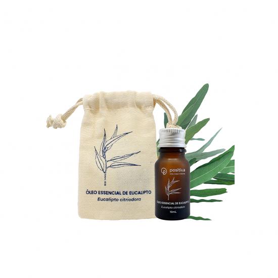 Óleo Essencial Agroflorestal de Eucalipto 10ml - Positiva