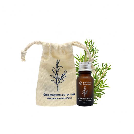 Óleo Essencial Agroflorestal de Malaleuca 10ml - Positiva
