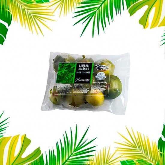 Fruto Orgânico de Cambuci Congelado 1kg - Asmussen