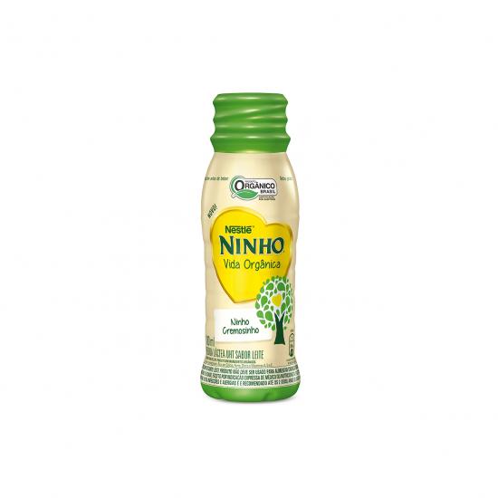 Bebida Láctea Sabor Leite Orgânico 180ml - Nestlé Orgânicos