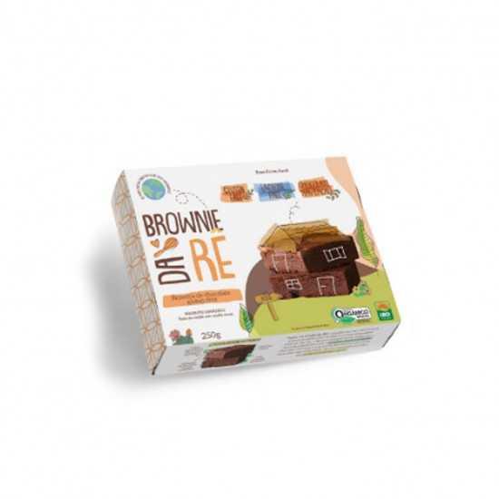 Brownie de Chocolate Orgânico Glúten Free 250g - Brownie da Rê