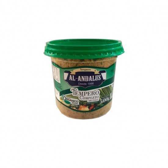Tempero Completo Orgânico Sem Pimenta 500g - Al-Andalus