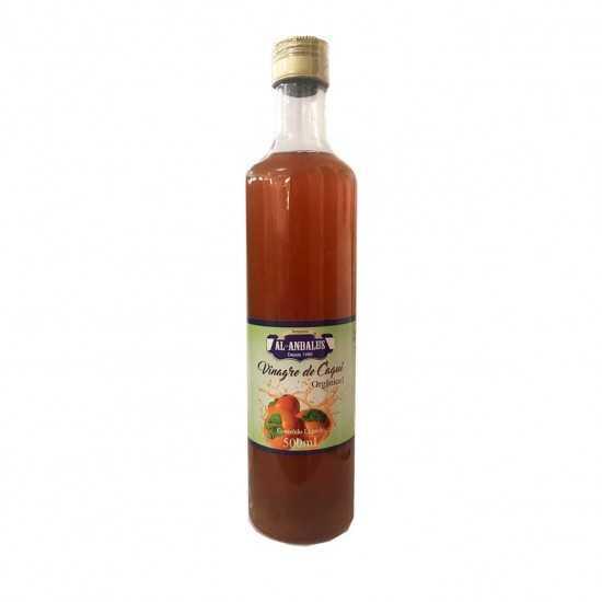 Vinagre de Caqui Orgânico 500ml - Al-Andalus