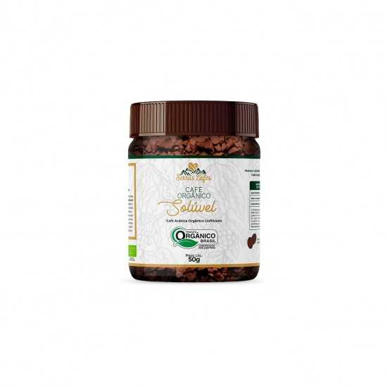 Café Solúvel Serras Orgânico 50g - Organ Alimentos