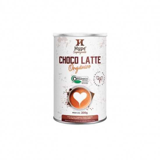 Choco Latte Hype Orgânico 200g - Organ Alimentos