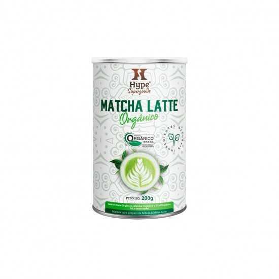 Matcha Latte Hype Orgânico 200g - Organ Alimentos
