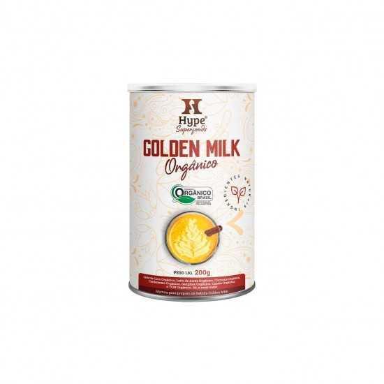 Golden Milk Hype Orgânico 200g - Organ Alimentos