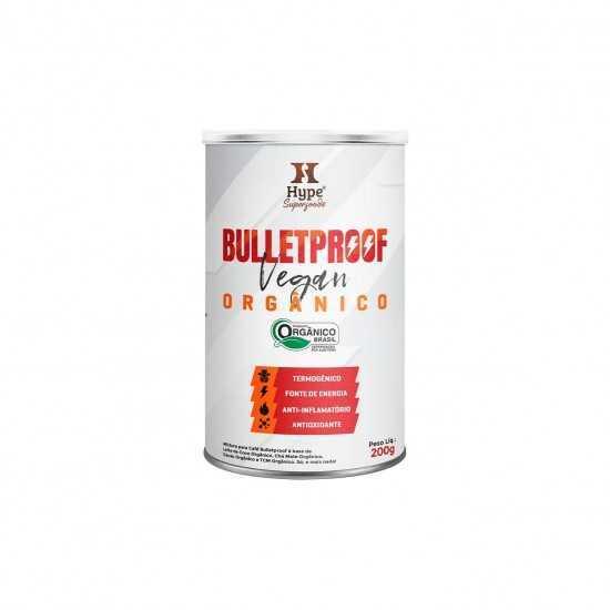 Bulletproof Vegan Hype Orgânico 200g - Organ Alimentos