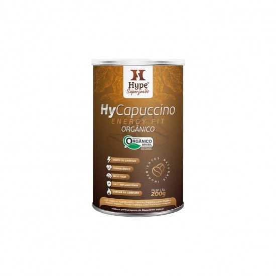 Hycapuccino Energy Fit Orgânico Hype 200g - Organ Alimentos