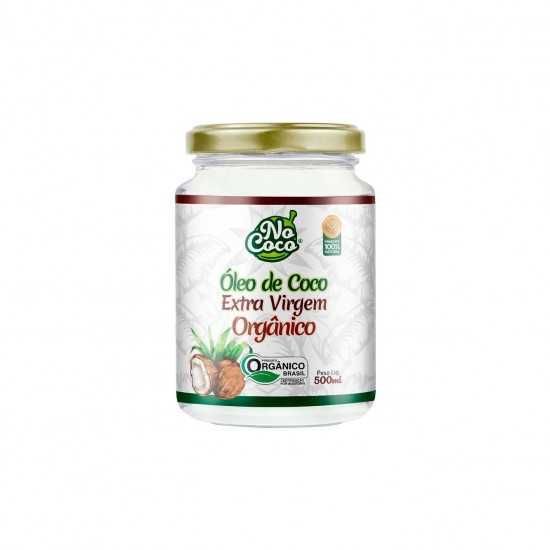 Coconut Oil - Óleo de Coco Extra Virgem Orgânico 500ml - Organ Alimentos