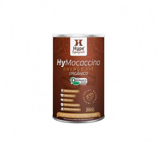 Hymocaccino Energy Fit Orgânico Hype 200g - Organ Alimentos