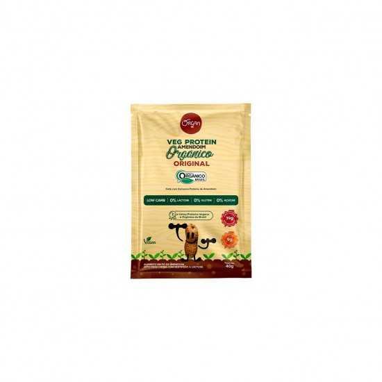 Sachê Veg Protein Amendoim Original Orgânico 40g - Organ Alimentos