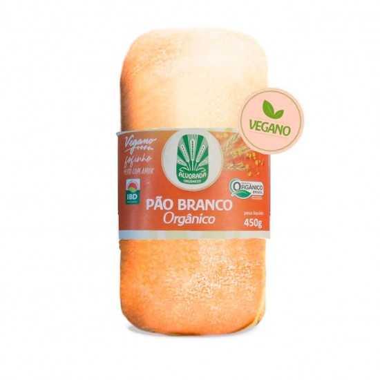 Pão Branco Orgânico Vegano 450g - Alvorada